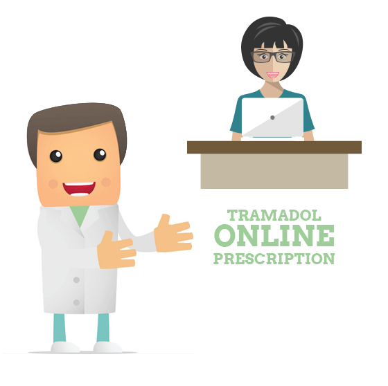 person approaching doctor to get Tramadol online prescription